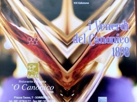I venerdì del Canonico 2019